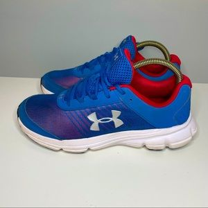 Under Armour Tennis 3021867 Blue Red Shoes